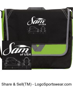 SAM of USA Messenger Bag Design Zoom